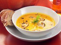 Pumpkin and Mushroom Soup recipe