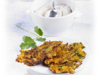 Pumpkin and Potato Rosti Cakes recipe