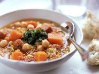 Pumpkin and Sausage Stew recipe