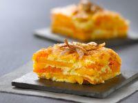 Pumpkin and Sweet Potato Gratin recipe