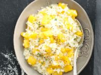 Pumpkin and Thyme Creamy Risotto recipe