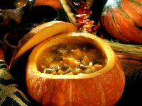 Pumpkin Beef Soup recipe