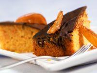 Pumpkin Cake with Chocolate Glaze recipe