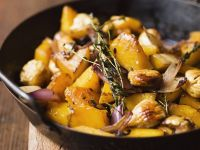 Pumpkin, Chestnuts and Onions recipe