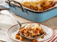 Zucchini and Beef Lasagne recipe
