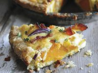 Autumnal Veg and Pork Tart recipe