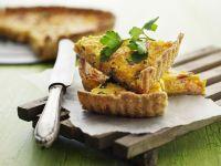Pumpkin Quiche with Ham recipe