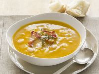 Pumpkin Bisque with White Beans recipe