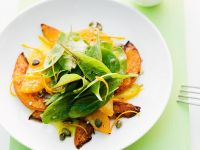 Pumpkin Spinach Salad recipe