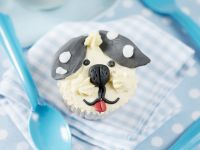 Puppy Cakes with Icing recipe