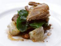 Quail with Potatoes recipe