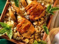 Quail with Risotto recipe