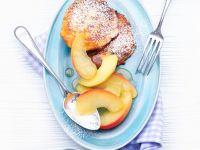 Quark and Potato Pancakes with Apple recipe