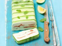 Quark and Smoked Salmon Terrine with Cucumbers recipe