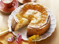 Quark Cake with Mandarins recipe
