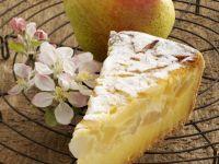 Quark Cake with Pears recipe