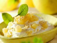 Quark Cream with Apple Compote recipe