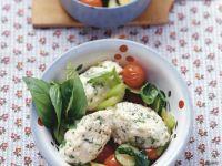 Quark Dumplings with Vegetables recipe