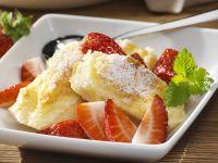 Quark Gratin with Strawberries recipe