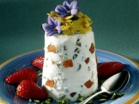 Quark Mousse with Candied Fruit recipe