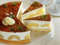Quark Pear Cake