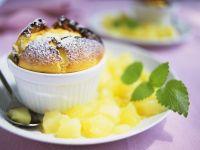 Quark Soufflé with Fruit
