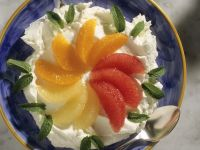 Quark with Citrus Fillets recipe