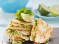 Quesadillas with Lime and Parsley recipe