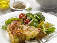 Quiche with Caramelized Shallots recipe