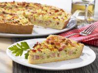 Quiche with Pancetta and Sauerkraut recipe