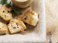 Quick and Easy Pan Fried Tofu recipe