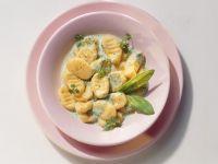 Quick Gnocchi with Cream Sauce recipe