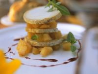 Quince Compote with Goat Cheese recipe