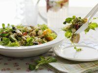 Quinoa Chicken and Vegetable Salad recipe