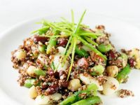 Quinoa Salad with Beans recipe