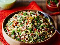 Quinoa with Peppers, Avocado and Sweetcorn recipe