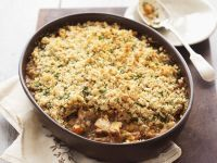 Rabbit and Carrot Stew with Herb Breadcrumbs recipe