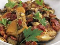 Rabbit and Mushroom Fricassee recipe