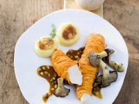 Rabbit Fillet in Carrot Coat recipe