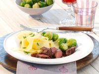 Rabbit Fillet with Red Wine and Lingonberry Sauce recipe