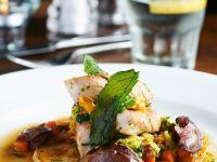 Rabbit Liver and Vegetables recipe