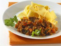 Rabbit Ragout with Pasta recipe