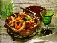Rabbit Vegetable Ragout recipe