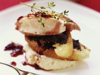 Rabbit with Red Wine Onions recipe