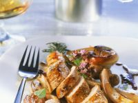 Rabbit with Shallot Sauce recipe