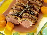 Rack of Lamb with Herb Crust recipe