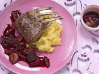 Rack of Lamb with Cornmeal recipe