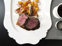 Rack of Venison with Pumpkin recipe