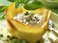 Radicchio Cream Pastry Shells recipe