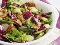 Radicchio Salad with Chicken recipe